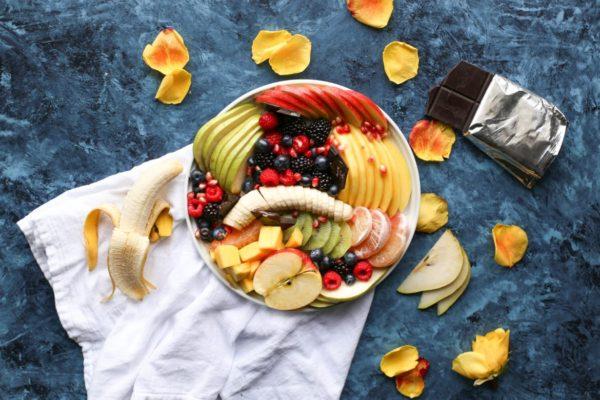単糖類なので血糖値が上がりやすい果物のイメージ